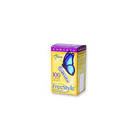 FreeStyle® Sterile Lancets, 28 Gauge, Box Of 100