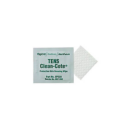 Clean-Cote® Protective Skin Dressing Wipes, Box Of 50
