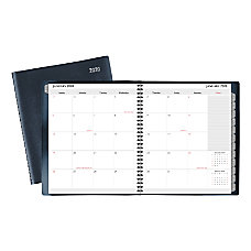 Office Depot Brand Monthly Planner 9