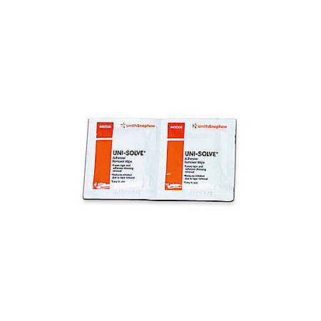 Uni-Solve® Adhesive Remover Wipes, Box Of 50