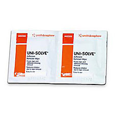 Uni Solve Adhesive Remover Wipes Box