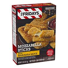 TGI Fridays Mozzarella Sticks With Marinara