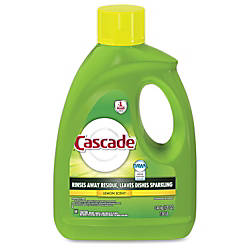 Cascade Gel Dishwasher Detergent Gel 120