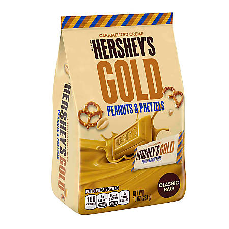 Hershey's® Gold Miniatures, 10 Oz, Pack Of 2 Bags