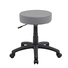 Boss Office Products Dot Stool GrayBlack