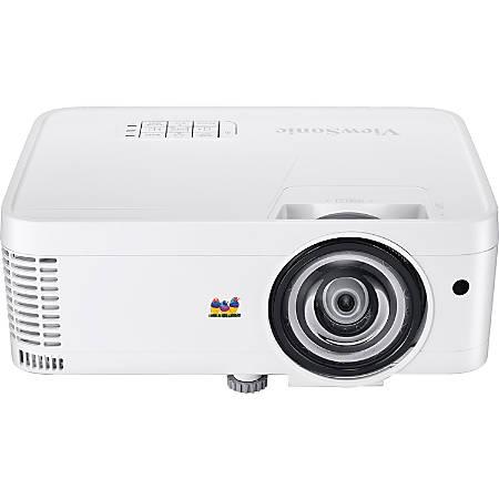 ViewSonic® 3D Ready Short Throw WXGA DLP Projector, PS600W