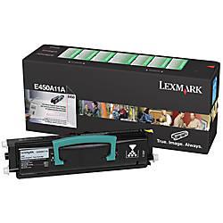 Lexmark E450A11A Remanufactured Black Toner Cartridge