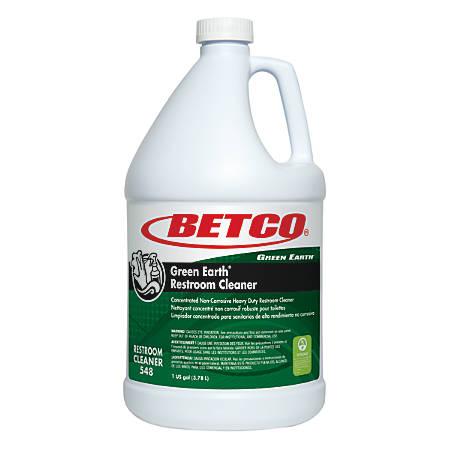 Betco® Green Earth® Restroom Cleaner, 1 Gallon, Case Of 4 Bottles