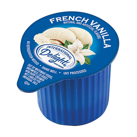 International Delight Non-Dairy Creamer, French Vanilla, Box Of 192 Packets
