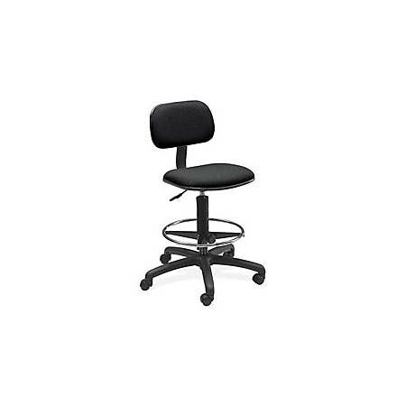 Safco® Extended Drafting Stool, Black