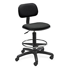 Safco Extended Drafting Stool Black