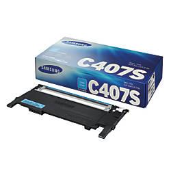 Samsung CLT C407S Cyan Toner Cartridge