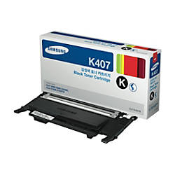 Samsung CLT K407S Black Toner Cartridge