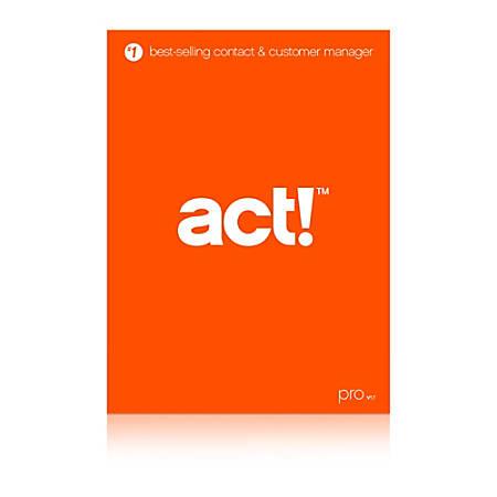 Act! Pro v17, Download Version