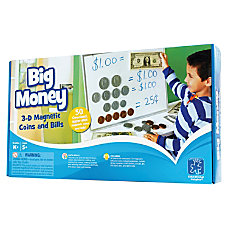 Educational Insights Big Money Magnetic Coins