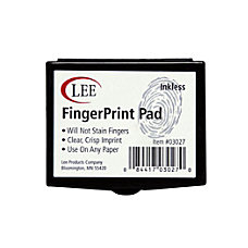 Lee Fingerprint Ink Pad Black