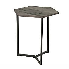Homestar North America Hexagon End Table