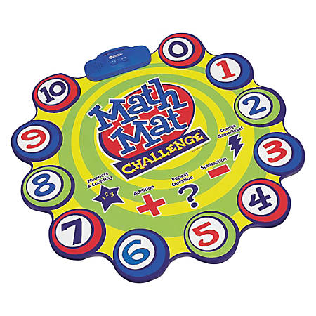 Learning Resources® Math Mat Challenge™ Game