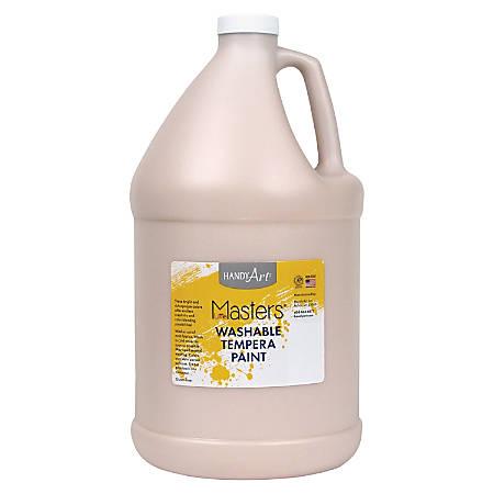 Handy Art Little Masters Washable Tempera Paint Gallon - 1 gal - 1 Each - Peach