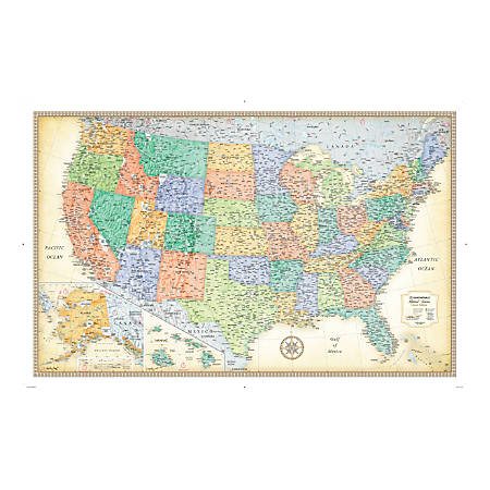 Rand McNally Classic U.S. Wall Map