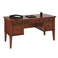 Realspace Picadilly Writing Desk Mahogany
