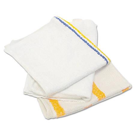 "HOSPECO Value Counter Cloths/Bar Mops, White, 14"" x 17"", 25-Lb Bag"