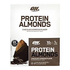 Optimum Nutrition Protein Almonds Chocolate Espresso