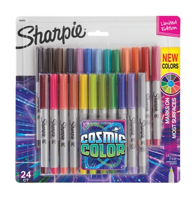 Sharpie Permanent Marker Twin Tip Fine Ultra-fine Assorted