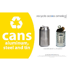Recycle Across America Aluminum METAL 5585