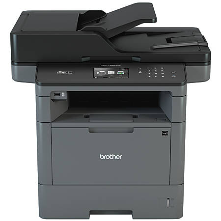 Brother Wireless Monochrome Laser All-In-One Printer, Copier, Scanner, Fax, MFC-L5900DW