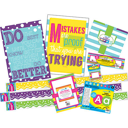 Barker Creek Classroom Décor Set, You Are Trying, Pre-K To College