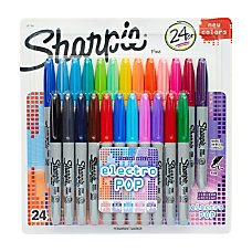 Sharpie Permanent Fine Point Markers Assorted