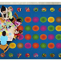 Flagship Carpets Circle Time Learning Rug