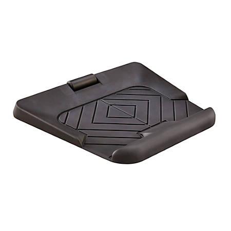"""Safco® Active Collection Anti-Fatigue Mat, 29"""" x 29"""", Black"""