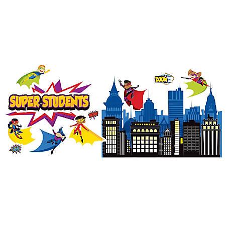 Carson-Dellosa Super Power Super Kids Bulletin Board Set, Multicolor, Grades K-5