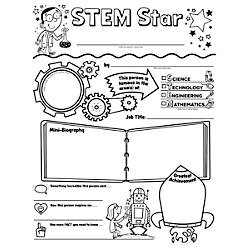 Scholastic STEM Star Personal Poster Set