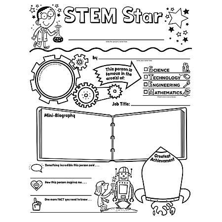 Scholastic STEM Star Personal Poster Set, Grades 2 - 5