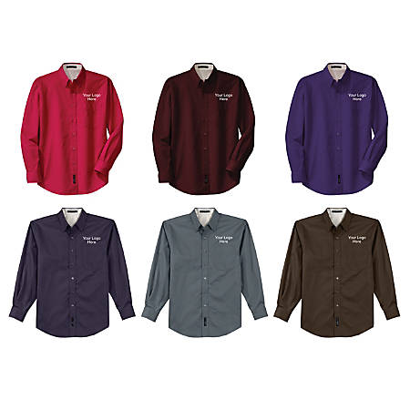 Wash-And-Wear Long-Sleeved Shirt