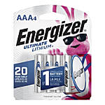 Energizer® Photo Ultimate Lithium AAA Batteries, Pack Of 4 Batteries