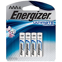 Energizer Photo Ultimate Lithium AAA Batteries