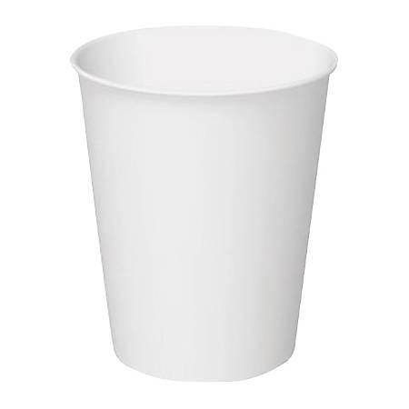 International Paper Hot Cups, 8 Oz, White Carte Blanc, Case Of 1,000