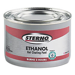 Sterno Products Ethanol Gel Chafing Fuel
