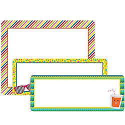 Carson Dellosa School Pop Labels Multicolor
