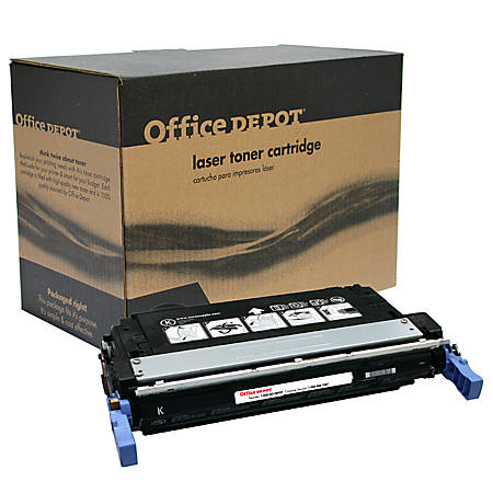 Office Depot® Brand OD4700B (HP 643A / Q5950A) Remanufactured Black Toner Cartridge