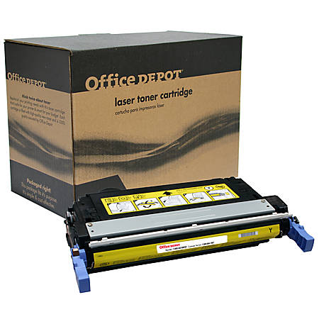 Office Depot® Brand OD4700Y (HP 643A / Q5952A) Remanufactured Yellow Toner Cartridge