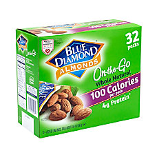Blue Diamond Almonds Grab Go Bags