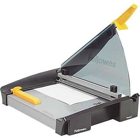 "Fellowes® Plasma Guillotine Paper Cutter, 15"", Black/Silver"