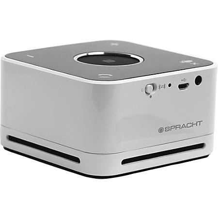 Spracht Conference Mate Portable Bluetooth Speaker, White