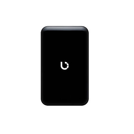 Bezalel Prelude Portable Wireless Charger, 3' Cord, Black, BZPCPLN