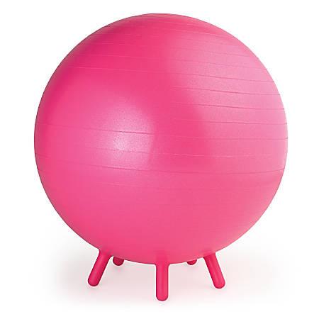Gaiam Kids' Balance Ball® Chair, Pink/Purple